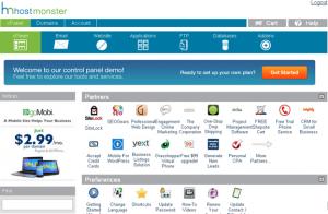HostMonster主机新cPanel面板界面
