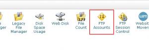 HostMonster主机查看FTP SERVER及端口号方法