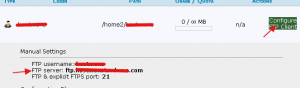 美国HostMonster主机查看FTP SERVER及端口号方法